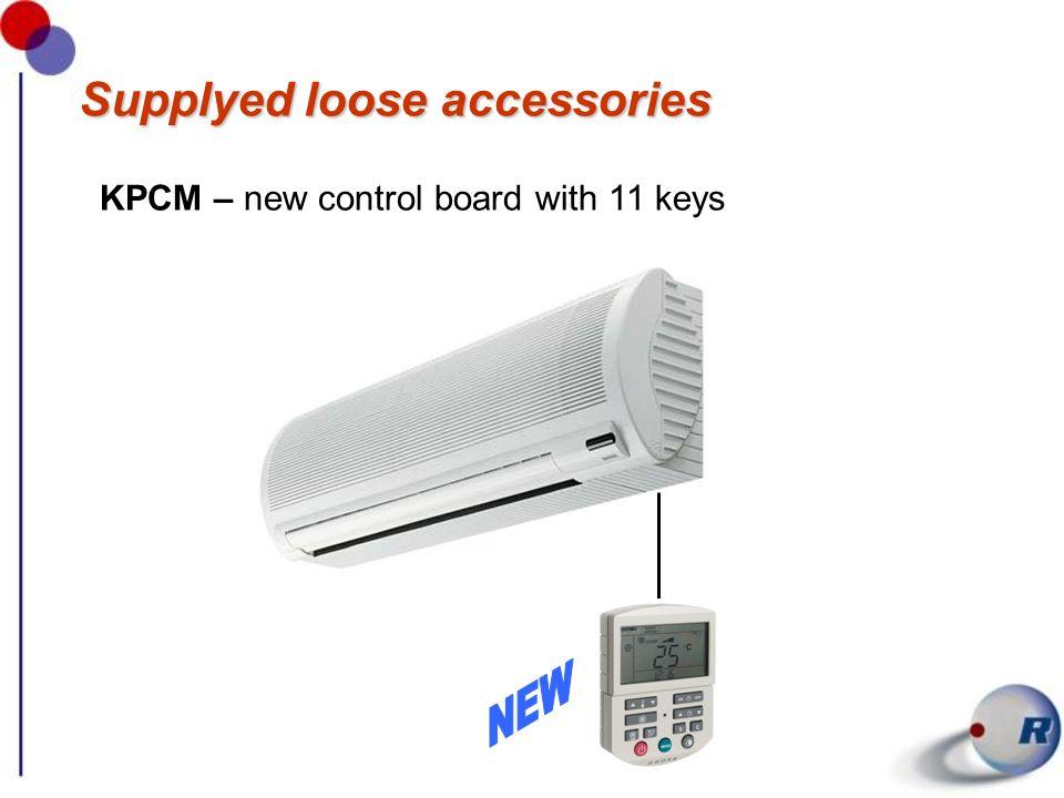 Accessori forniti separatamente KTCM – LCD infra-red remote control