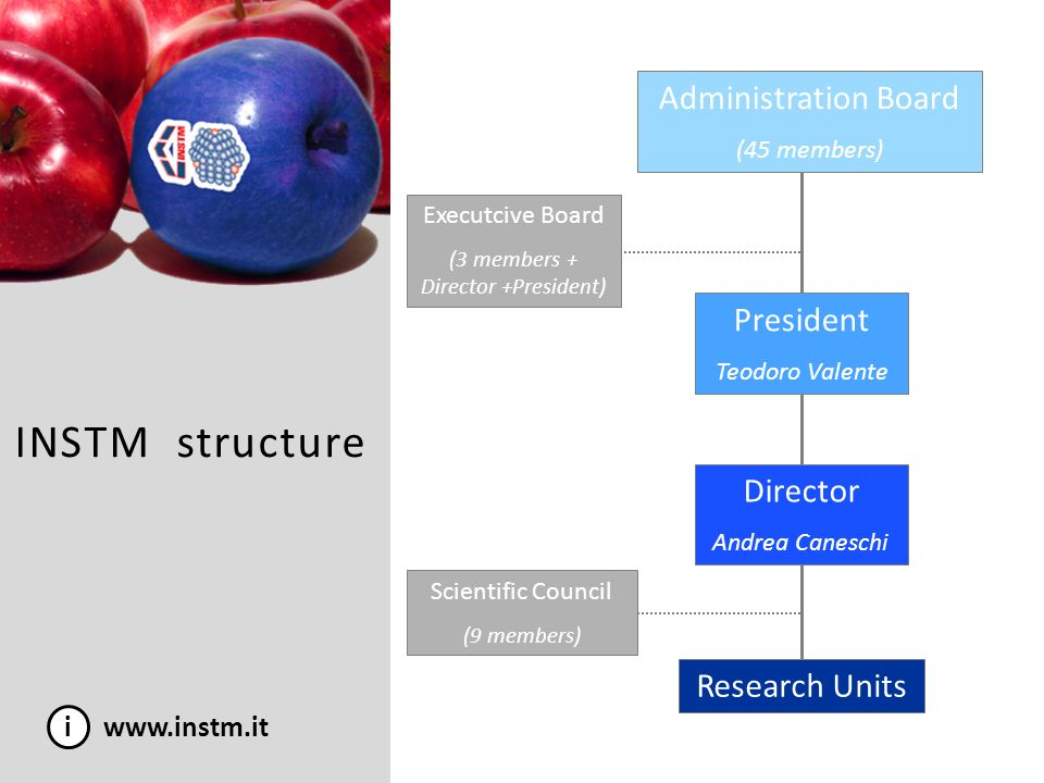 i www.instm.it 1.High mechanics, construction and transport Director: Prof.