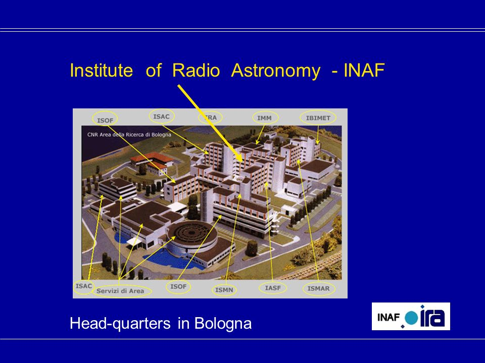 Institute of Radio Astronomy - INAF Head-quarters in Bologna