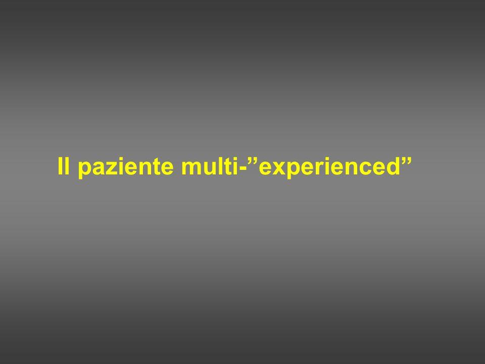 Il paziente multi-experienced