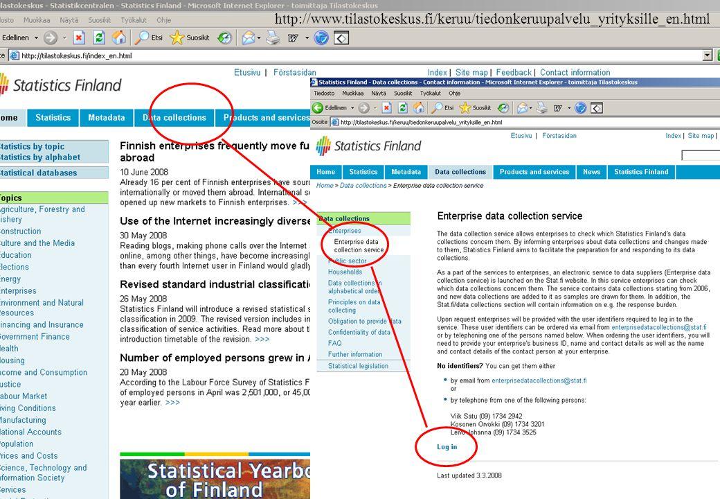 16 June 200813Hannele Orjala http://www.tilastokeskus.fi/keruu/yritys_en.html