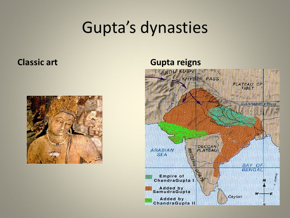 Guptas dynasties Gupta reignsClassic art
