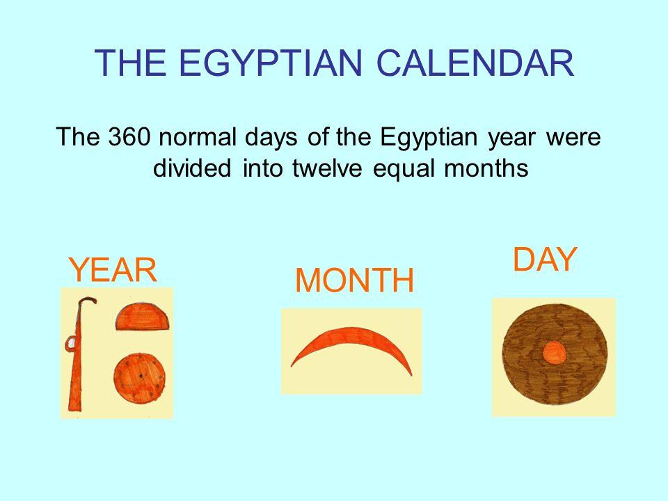 Egyptian had only three seasons INUNDATION WINT ER SUMMER