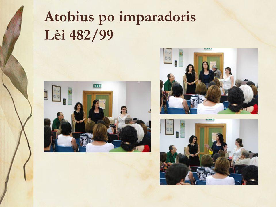 Atobius po imparadoris Lèi 482/99
