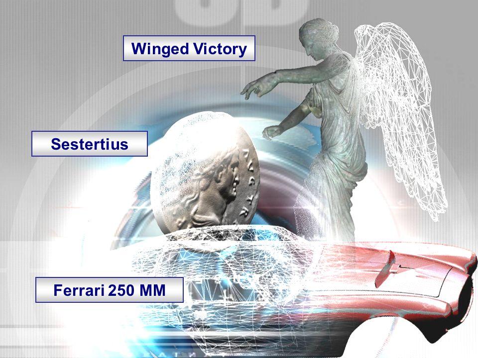 4 Winged Victory Sestertius Ferrari 250 MM