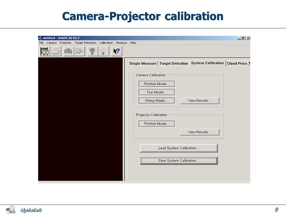 9 Camera-Projector calibration