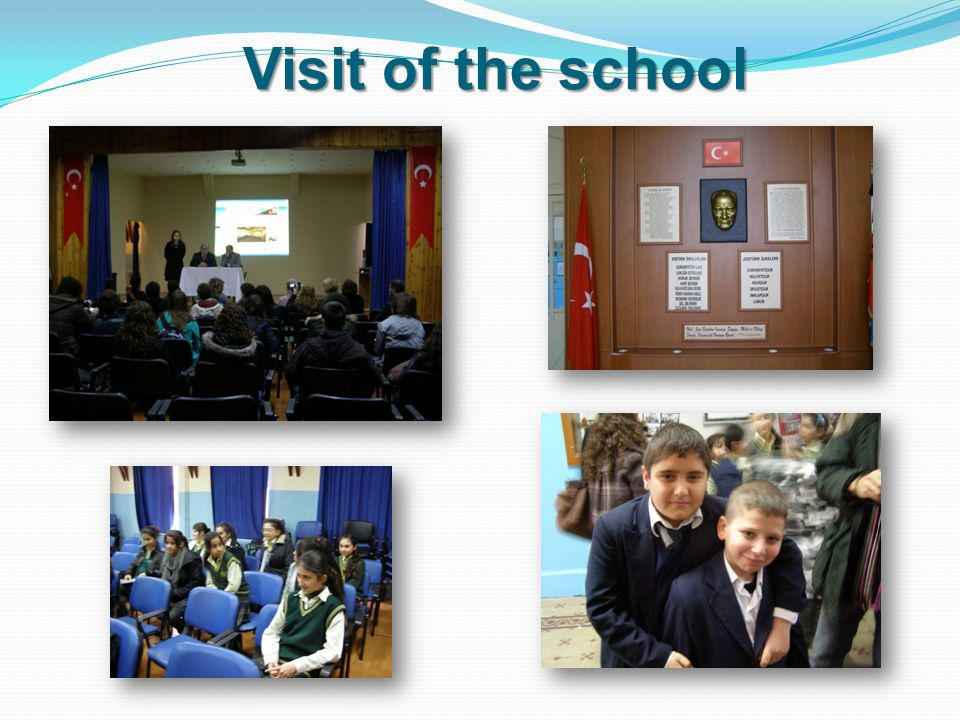 Visit of the school