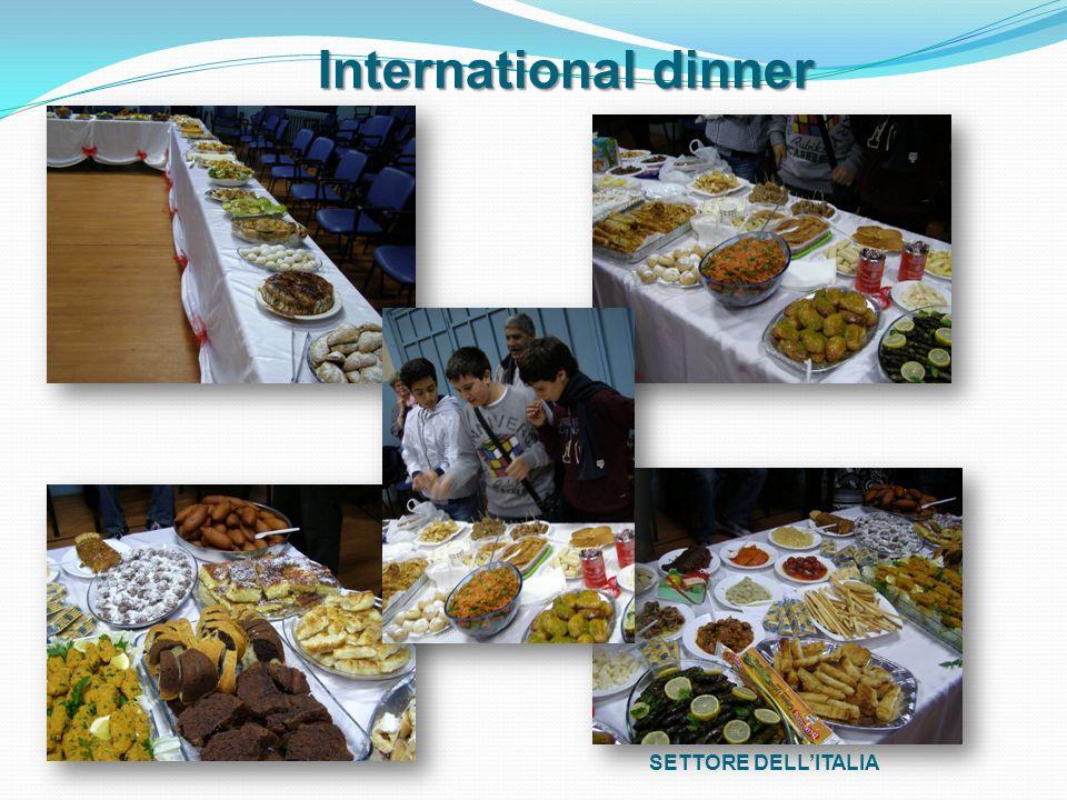 SETTORE DELLITALIA International dinner