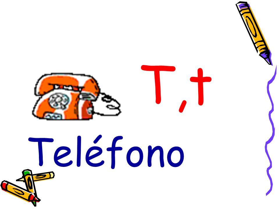T,t Teléfono