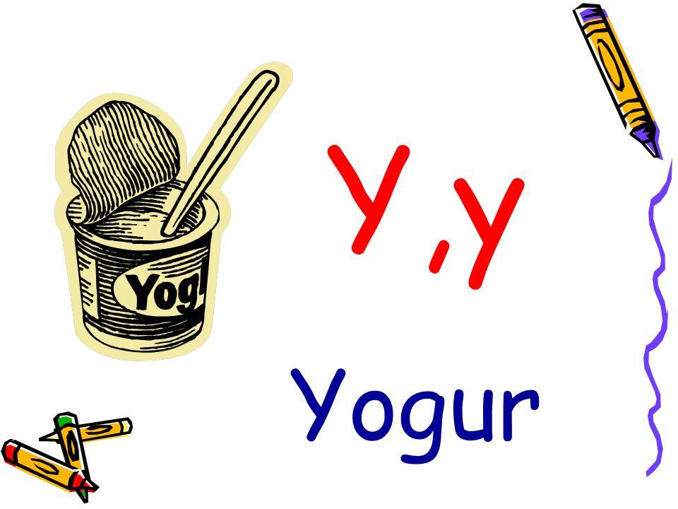 Y,y Yogur