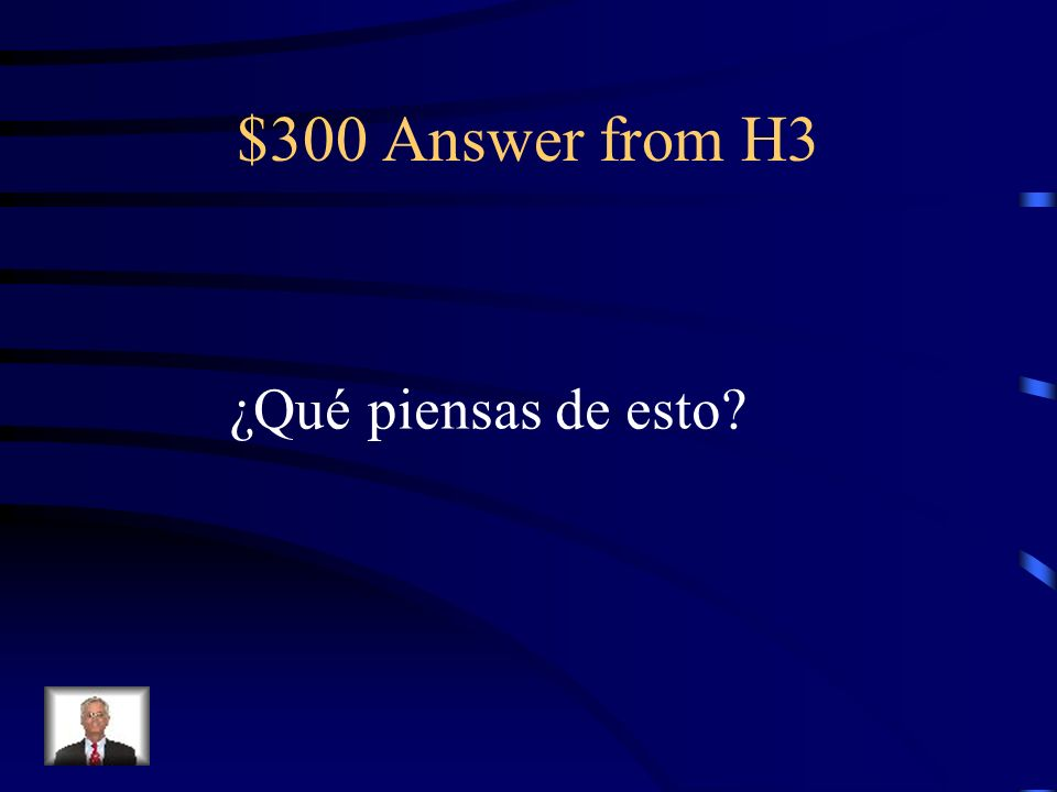 $300 Question from H3 What do you think of this?