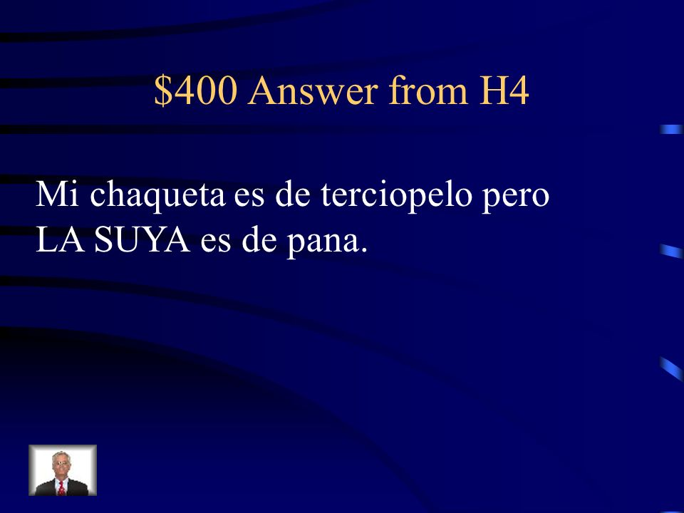 $400 Question from H4 My jacket is velvet but HERS is corduroy.