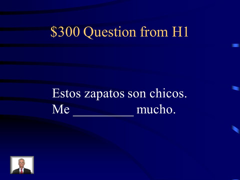 $200 Answer from H1 las medidas