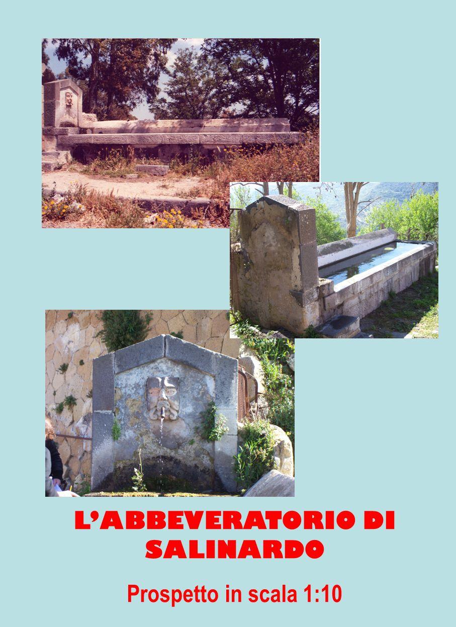 LABBEVERATORIO DI SALINARDO Prospetto in scala 1:10