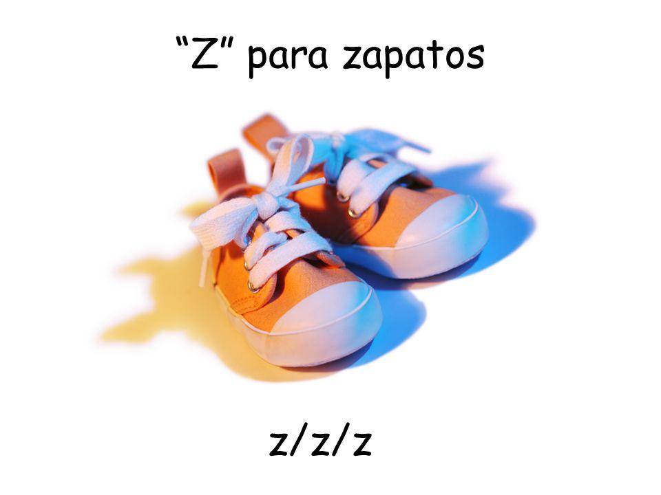 Z para zapatos z/z/z