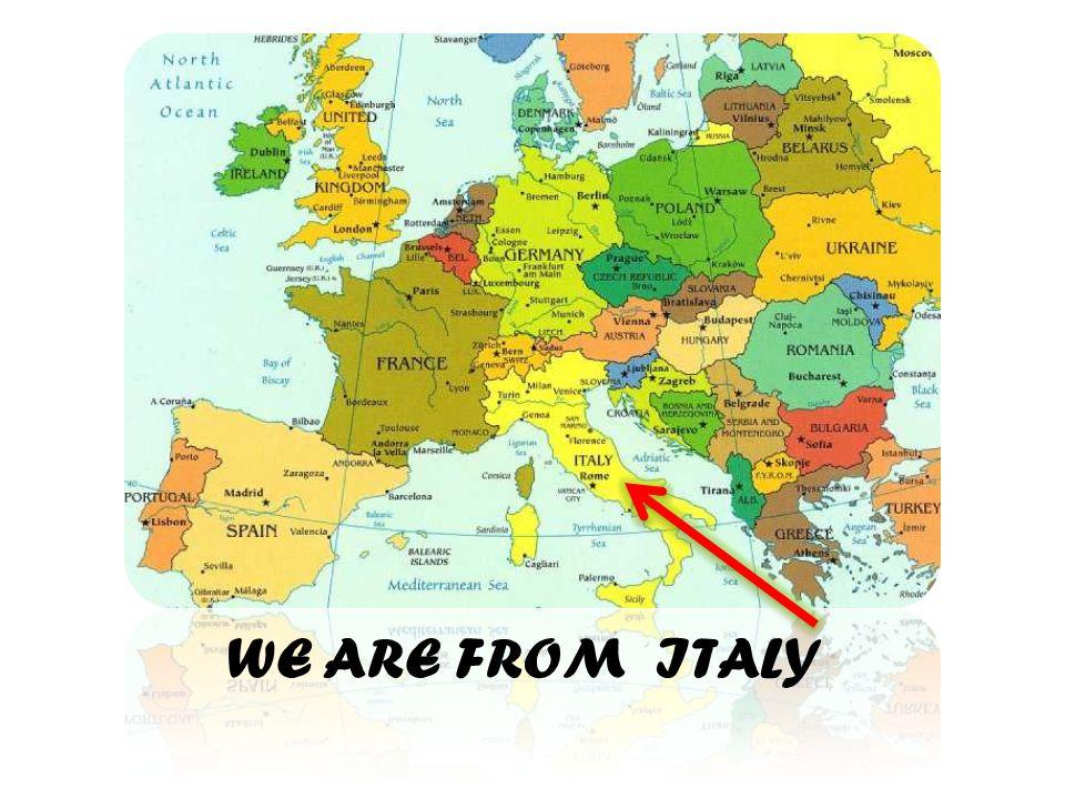 Italy is divided in twenty regions.