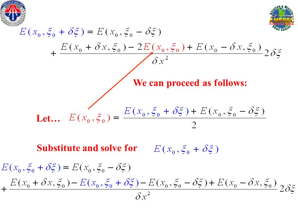We can proceed as follows: Substitute and solve for Let…