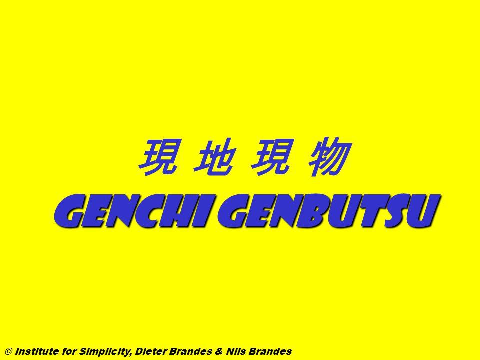 Genchi genbutsu © Institute for Simplicity, Dieter Brandes & Nils Brandes