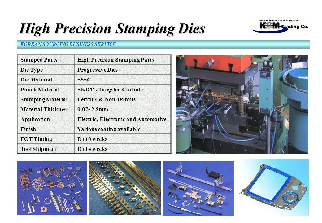 High Precision Stamping Dies High Precision Stamping Dies KOREAN SOURCING BUSINESS SERVICE Stamped PartsHigh Precision Stamping Parts Die TypeProgress