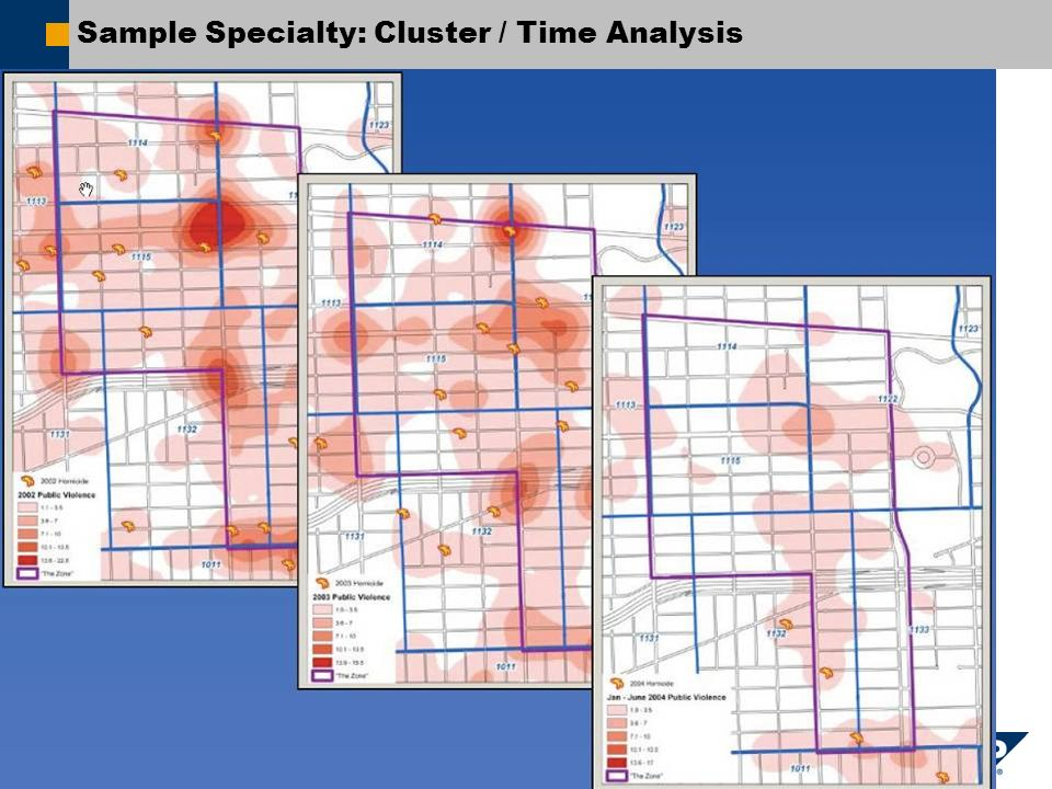 SAP AG 2007, Title / First Name Last Name / 10 Sample Specialty: Cluster / Time Analysis