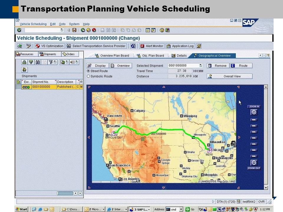SAP AG 2007, Title / First Name Last Name / 24 Transportation Planning Vehicle Scheduling