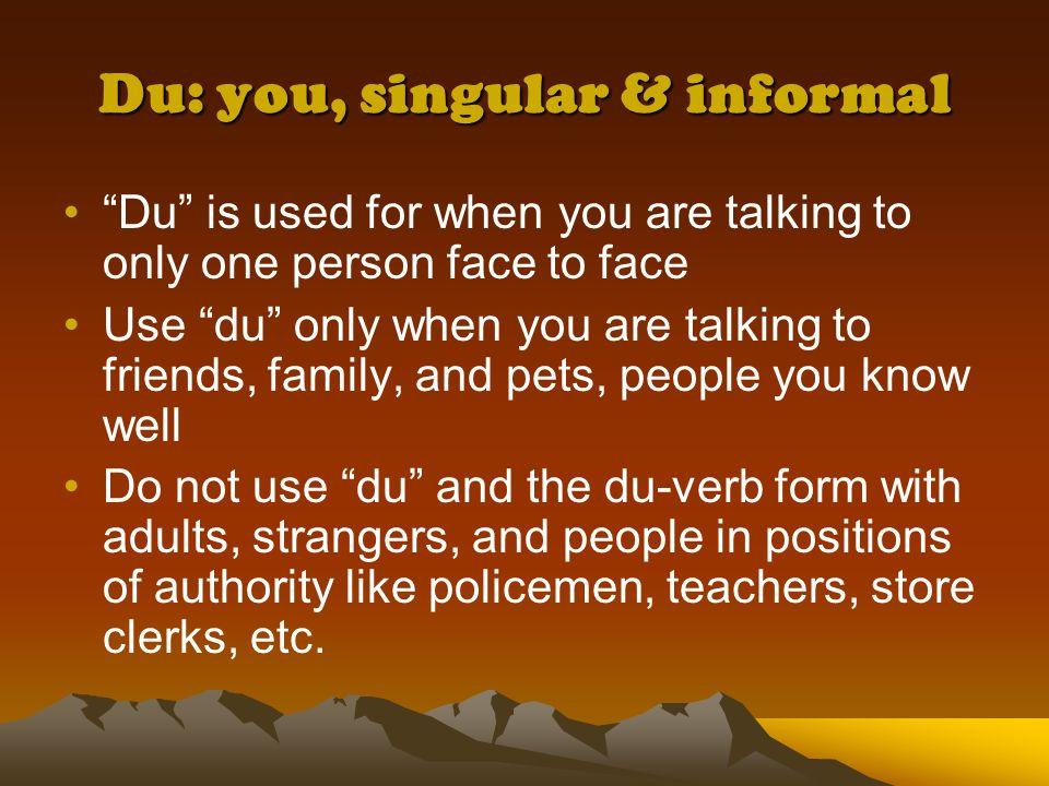 Du, Ihr, and Sie: How do you know which one to use? Deutsch I Frau Spampinato