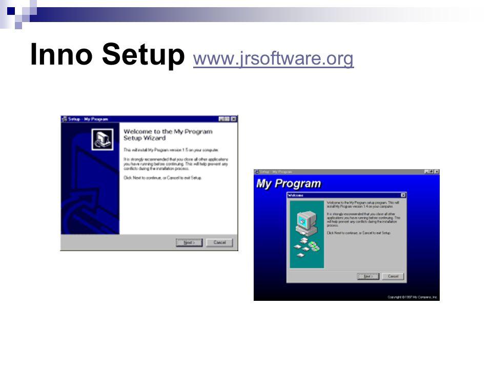 Inno Setup www.jrsoftware.org www.jrsoftware.org
