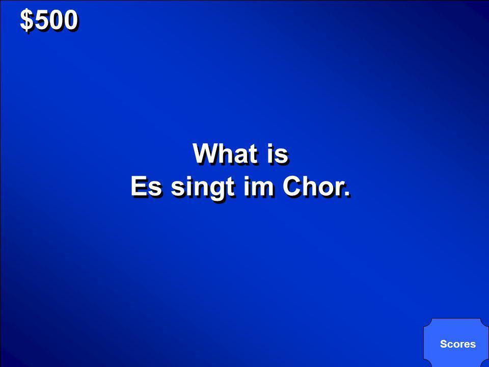 © Mark E. Damon - All Rights Reserved $500 Das Mädchen singt im Chor