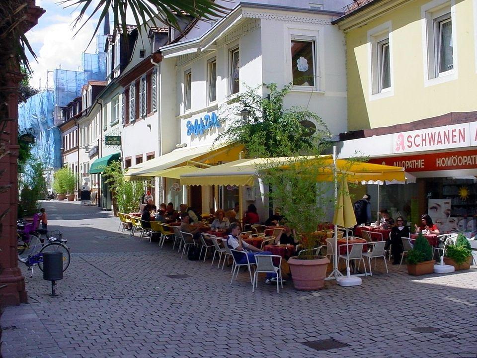 das Café / die Konditorei (the café / the pastry shop)