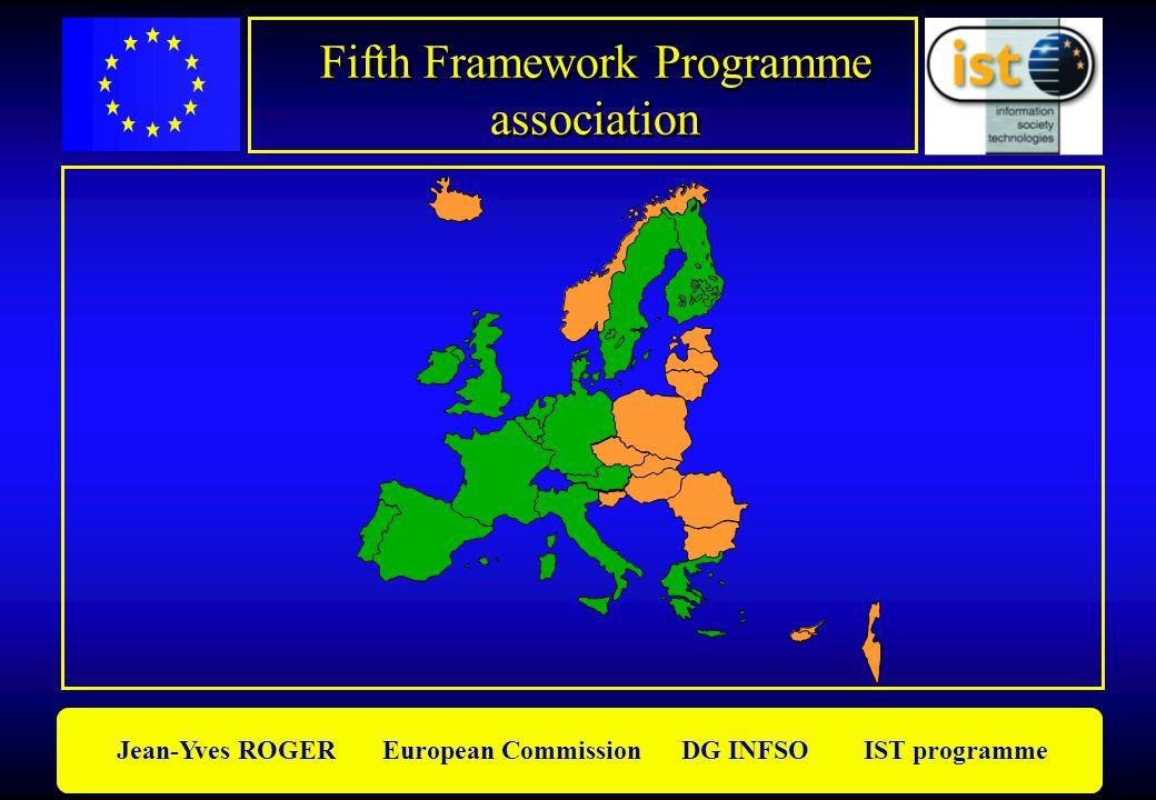 Fifth Framework Programme association Fifth Framework Programme association Jean-Yves ROGER European Commission DG INFSO IST programme