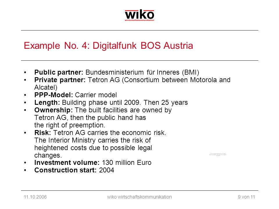 11.10.2006wiko wirtschaftskommunikation Example No.