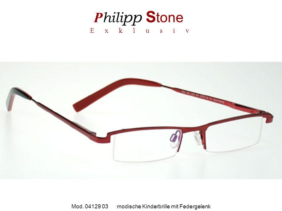 P hili pp S tone E x k l u s i v Mod. 04129 03 modische Kinderbrille mit Federgelenk