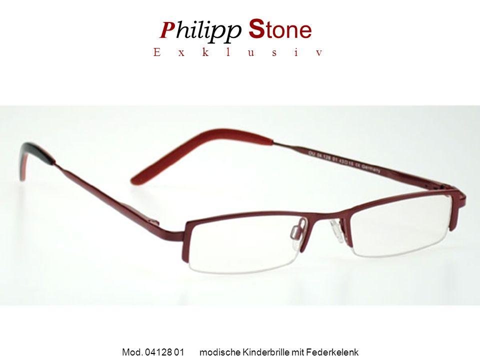 P hili pp S tone E x k l u s i v Mod. 04128 01 modische Kinderbrille mit Federkelenk