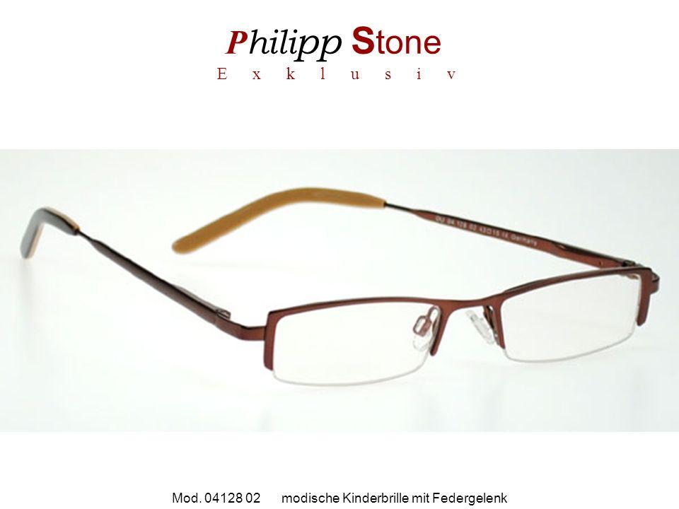P hili pp S tone E x k l u s i v Mod. 04128 02 modische Kinderbrille mit Federgelenk