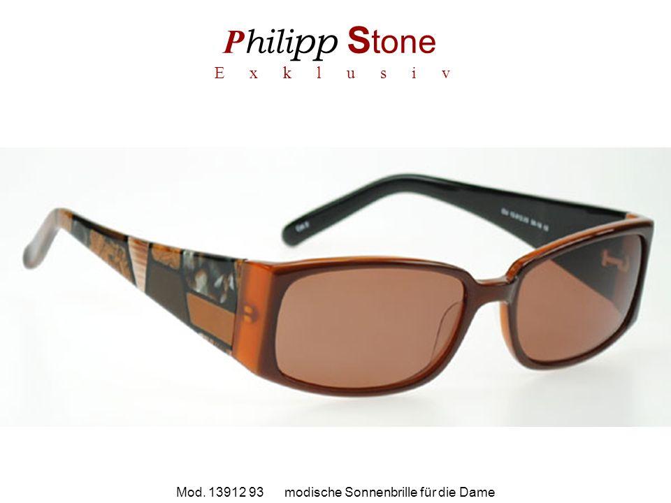 P hili pp S tone E x k l u s i v Mod. 13912 93 modische Sonnenbrille für die Dame