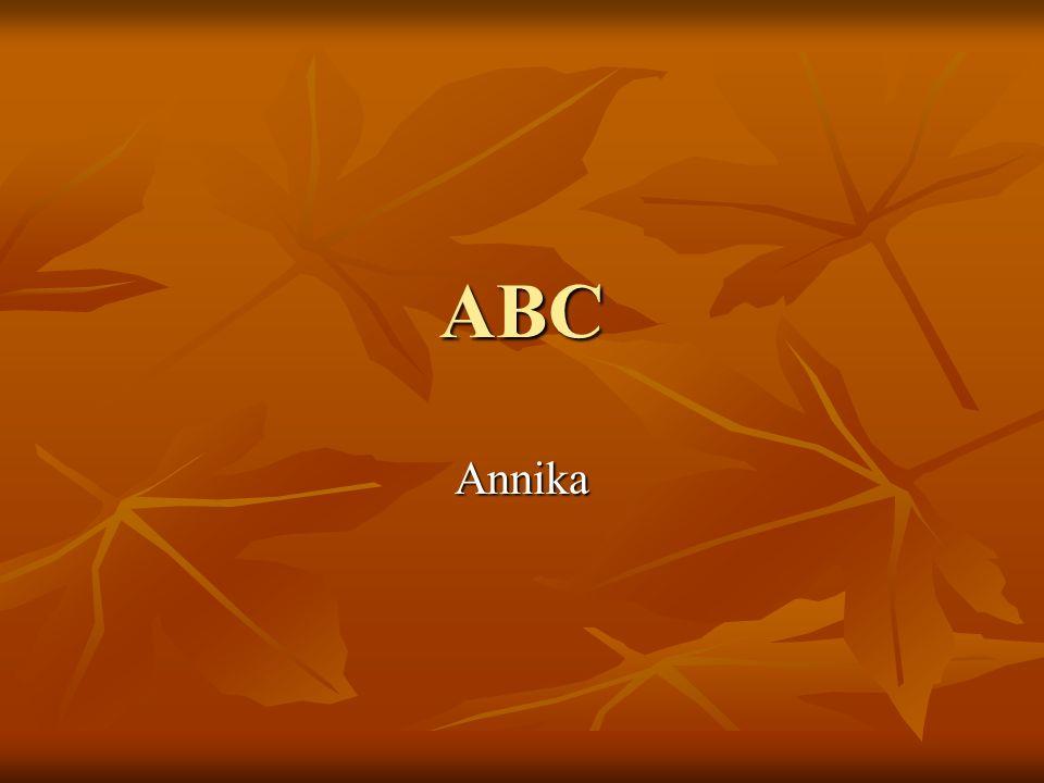 ABC Annika