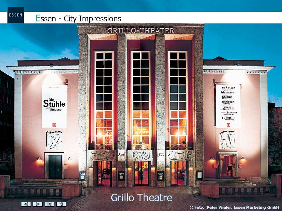 E ssen - City Impressions Grillo Theatre © Foto: Peter Wieler, Essen Marketing GmbH
