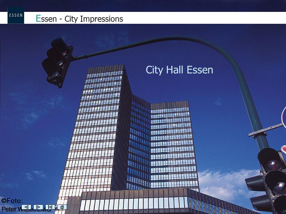 E ssen - City Impressions City Hall Essen