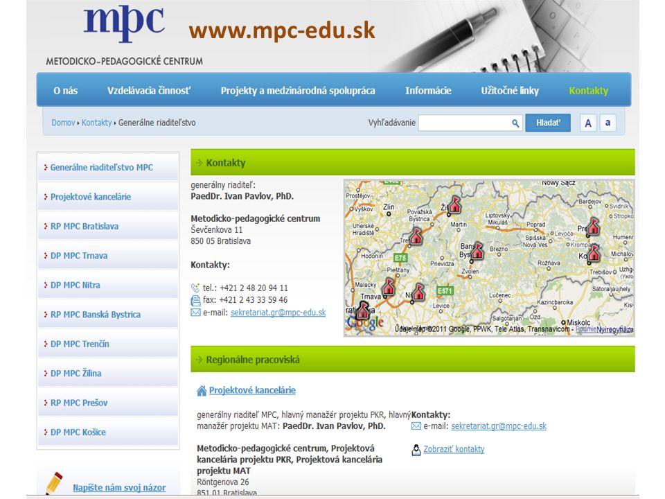 www.mpc-edu.sk