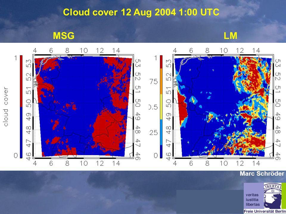 Cloud cover 12 Aug 2004 1:00 UTC MSGLM Marc Schröder