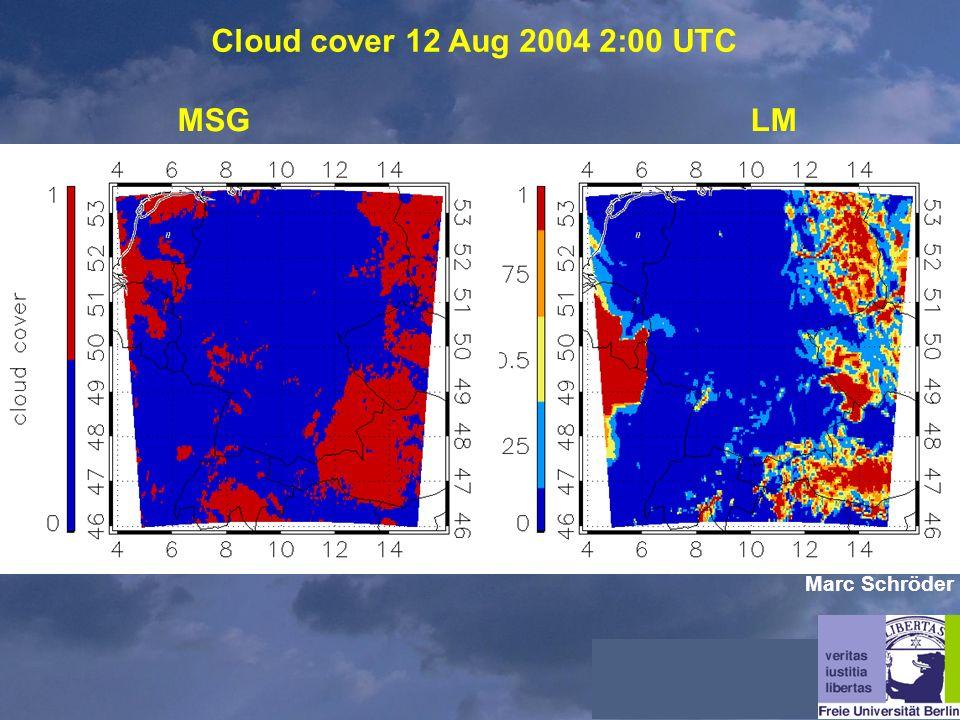 Cloud cover 12 Aug 2004 2:00 UTC MSGLM Marc Schröder