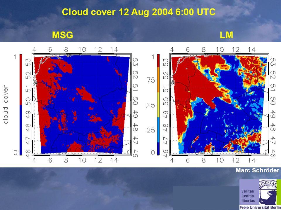 Cloud cover 12 Aug 2004 6:00 UTC MSGLM Marc Schröder