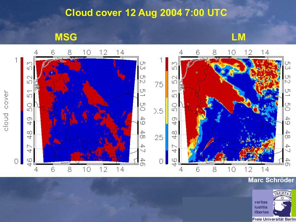 Cloud cover 12 Aug 2004 7:00 UTC MSGLM Marc Schröder