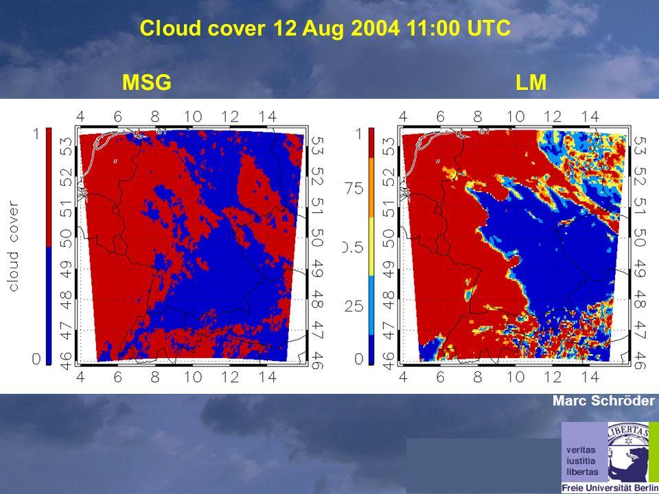 Cloud cover 12 Aug 2004 11:00 UTC MSGLM Marc Schröder