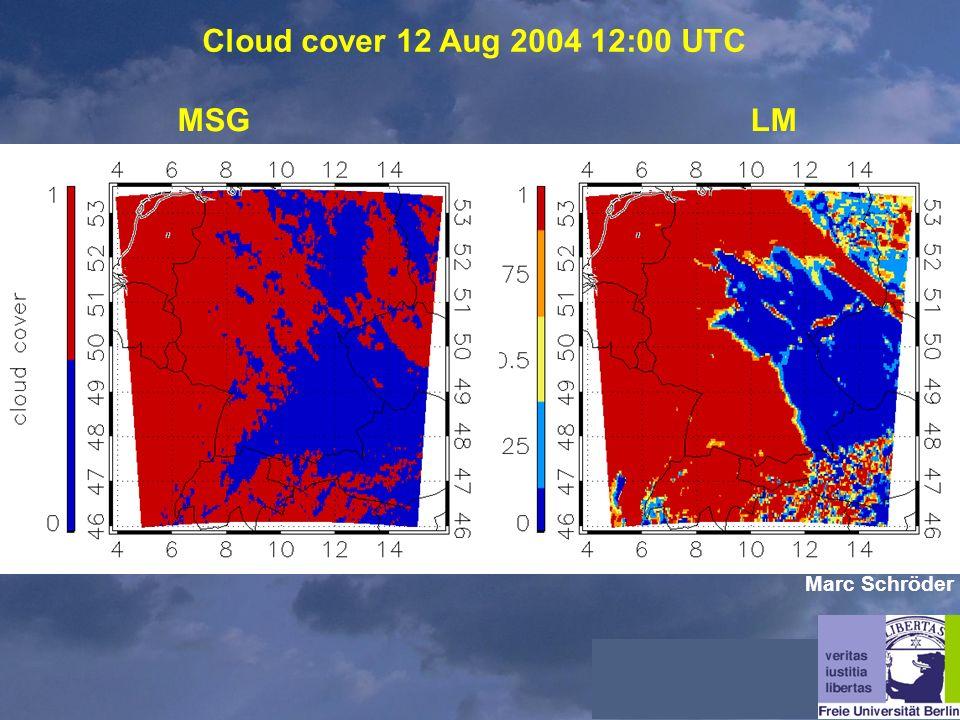 Cloud cover 12 Aug 2004 12:00 UTC MSGLM Marc Schröder