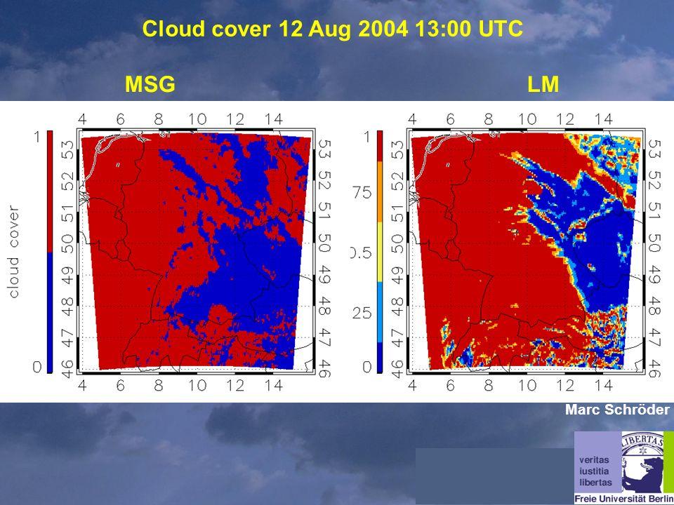 Cloud cover 12 Aug 2004 13:00 UTC MSGLM Marc Schröder