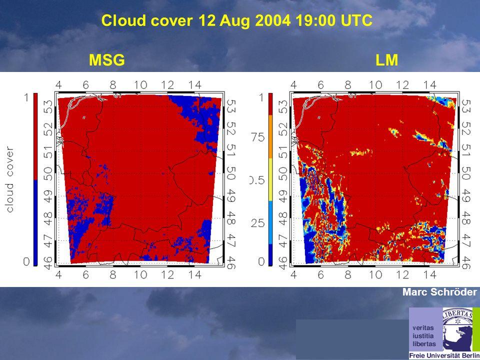 Cloud cover 12 Aug 2004 19:00 UTC MSGLM Marc Schröder