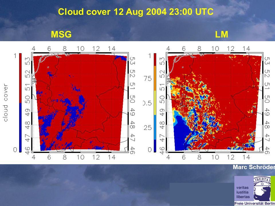 Cloud cover 12 Aug 2004 23:00 UTC MSGLM Marc Schröder
