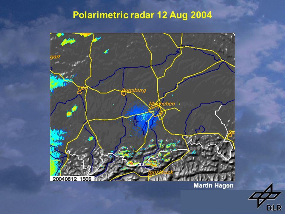 Polarimetric radar 12 Aug 2004 Martin Hagen