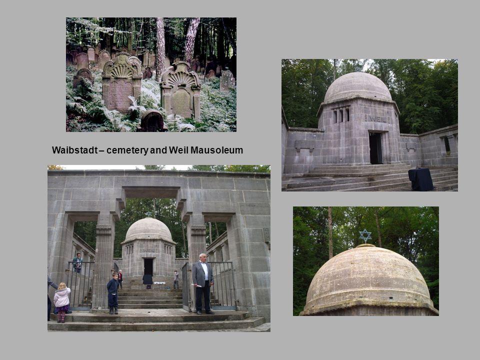 Waibstadt – cemetery and Weil Mausoleum